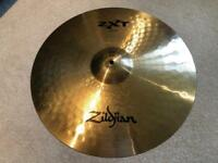 "Zildjian ZXT Cymbal Set (Hi-hats 14"", crash 16"" and ride 20"") with free bag"