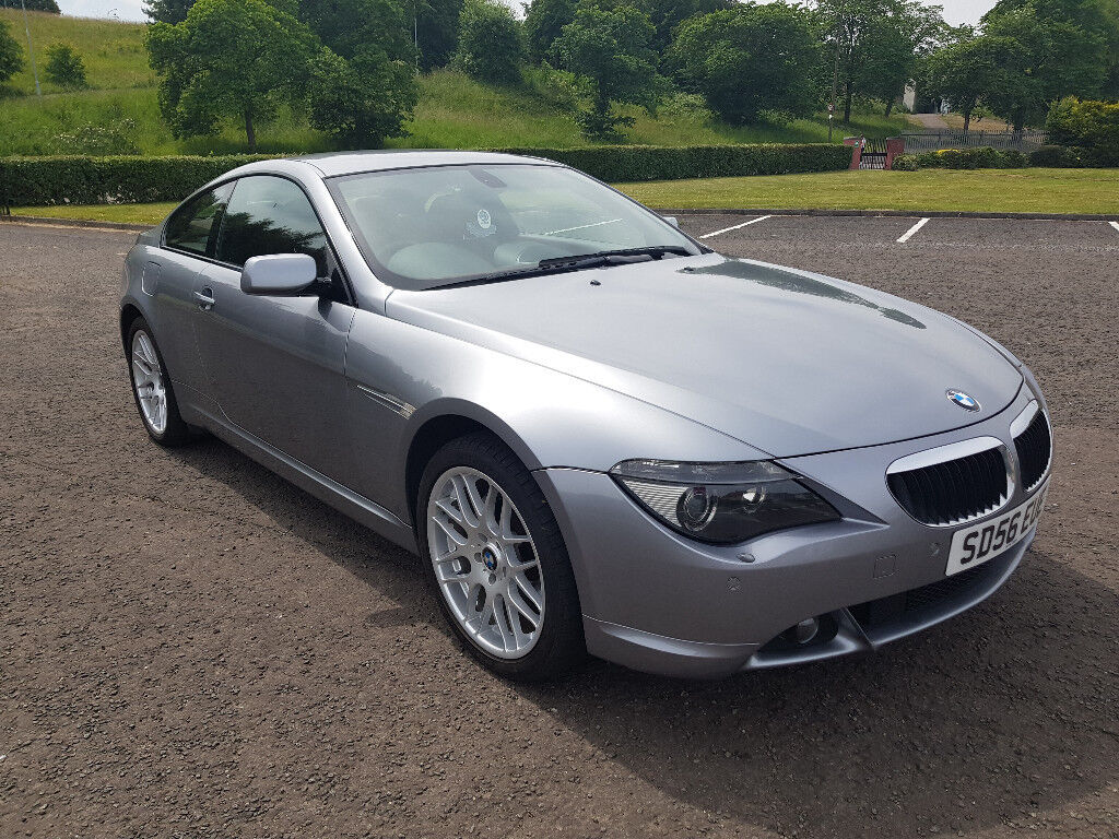 2006 56 Bmw 6 Series 630i Coupe 1 Year Mot Service History Low Mileage 89k