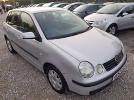 Volkswagen Polo 1.4 SE Hatchback 5dr Petrol Automatic. SERVICE HISTORY. HPI CLEAR. LADY OWNER. 2 KEY