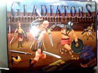 GLADIATORS - BOOK WITH 24 PIECE JIGSAWS