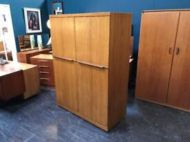 Large Wardrobe by Uniflex. Retro Vintage Mid Century