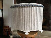 Lloyd Loom linen laundry basket or toy box