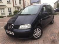2004/04 Seat Alhambra SX 1.9 TDI 130Bhp 6G 7 Seater New Clutch & Flywheel 1 lady owner