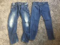 3 pairs of G-Star jeans BNWOT
