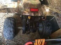 Kids 110cc quad spairs or repairs