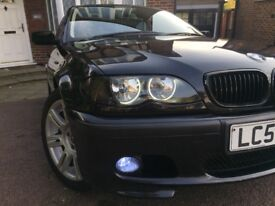 BMW E46 316 BLACK 1.8ltr - AUTOMATIC & PETROL - Full leather, MOT'd and only 2 OWNERS !