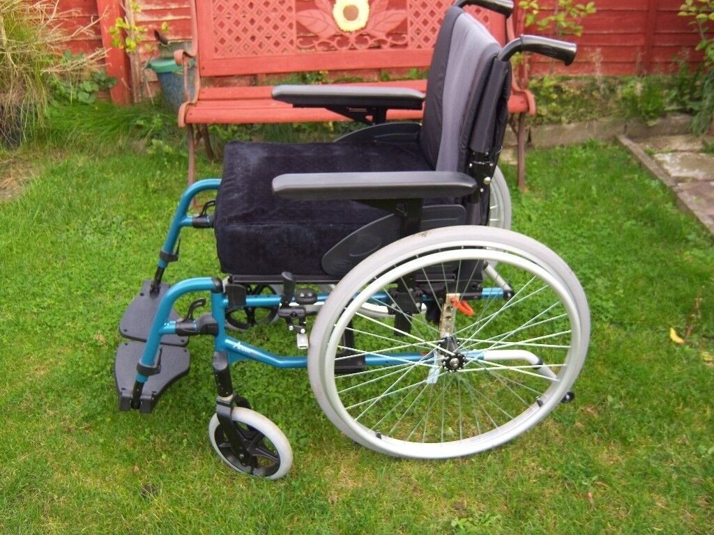 As new Wheelchair