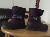 Girls snow boots s4