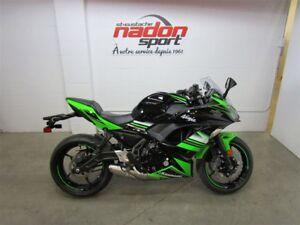 2017 Kawasaki Ninja 650 ABS KRT DÉMONSTRATEUR
