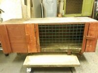 Rabbit hutch cheap to clear 4ft