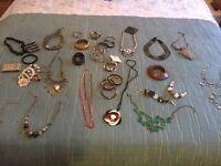 Massive selection of jewellery