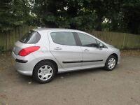 beautiful 2009 peugeot 308 1.4 verve.only 52000 miles.sold with 1 year warranty.