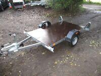 NEW / UNUSED ERDE 6-8 X 4-0 (600KG) FLATBED TRAILER.....