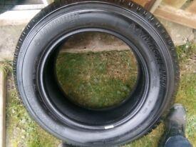 225/65/17 x2 Michelin Latitude Cross Part worn tyres