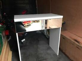Mirrored 2 draw dressing table