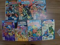 DC Comics All-Star Squadron 1980's x 7 comics