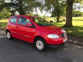 2007 VOLKSWAGEN FOX 1.2 LOW MILES IDEAL 1ST CAR FULL SERVICE HISTORY