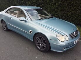 MERCEDES CLK 270 . 12 MONTH MOT, PERFECT CONDDITION FOR THIS AGE