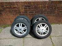 Ford focus alloys and tires