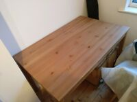Wooden Table & 3 Chairs