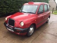 1998 s reg London taxi silver tx1
