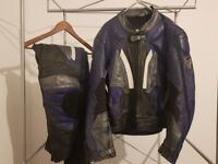 Motorcycke Leathers (size 52, good condition)