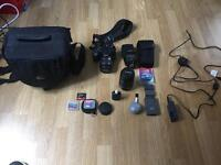 Canon EOS400D and extras