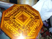hexagon coffee table