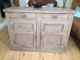 Antique french oak sideboard, dresser
