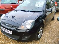 2007 Ford fiesta 1.4 petrol 5 door hatch back 95.000 miles some service history September 2018 MOT