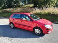 Volkswagen Polo, 2006, 1.2L Petrol, Full Service History and New MOT-June 2019