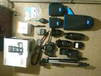 Canon 5D mark II with 3 lens and many accessories