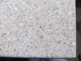 NEW laminate kitchen worktop beige stone effect