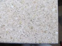 NEW laminate kitchen worktop beige stone