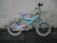 Kids Bike by Silver Fox, Good Condition, 14 inch Great for Kids 4 Years, JUST SERVICED/ CHEAP PRICE!