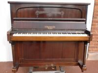 BURLMAN PIANO SUIT BEGINNER TUNED £120 CAN DELIVER