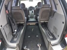 Kia sedona disability wheel chair acsess Diesel 1owner from new