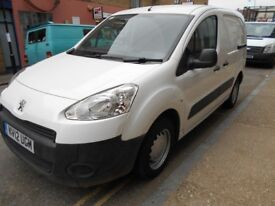 2012 PEUGEOT PARTNER 16HDI 850S L1 PANEL VAN YEAR MOT EURO 5 BLUETOOTH CONNECTION ELECTRIC PACK VGC