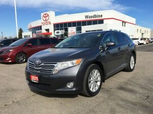 2011 Toyota Venza AWD w/ Leather, Backup Cam, Alloy Wheels