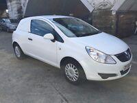 corsa diesel small van low insurance low tax v. economical full 12 months mot