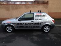 ALL SCRAP CARS WANTED FOR CASH