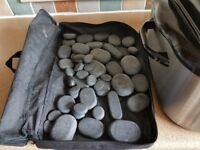 Hot stones massage kit
