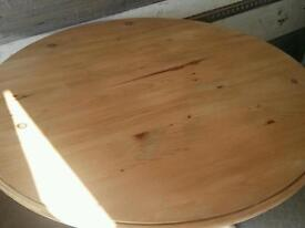 Nice large natural pine dining table
