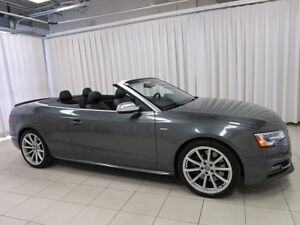 2015 Audi S5 Cabrio! Supercharged, LOW KMs! RS5 brakes!