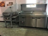 MIDDLEBY MARSHALL PS628E WOW OVEN, SALADETTE UNIT, 25LTR DOUGH MIXER ( Finance & Lease options )