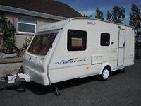 Bailey caravan 4-5 berth 2002