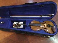 Stentor 1/4 size student violin in excellent condition