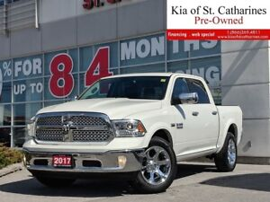 2017 Ram 1500 Laramie | Ventilated Seat | Leather Interior