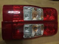 Mk7 Ford Transit rear light units