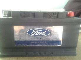 Ford car battery.